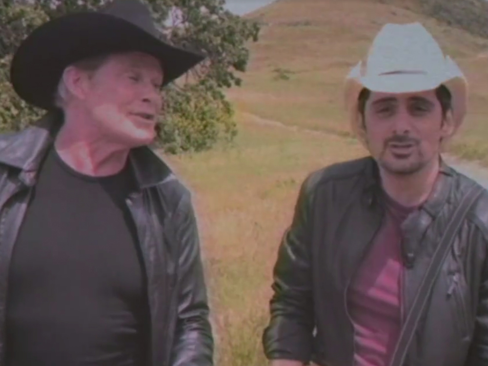 """The 1980s Called . . . They Like Brad Paisley's New Video for """"Last Time for Everything"""""""