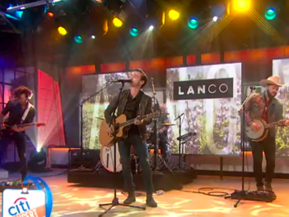 "Watch LANco Make Its National TV Debut by Performing New Single, ""Greatest Love Story,"" on ""Today"" Show"