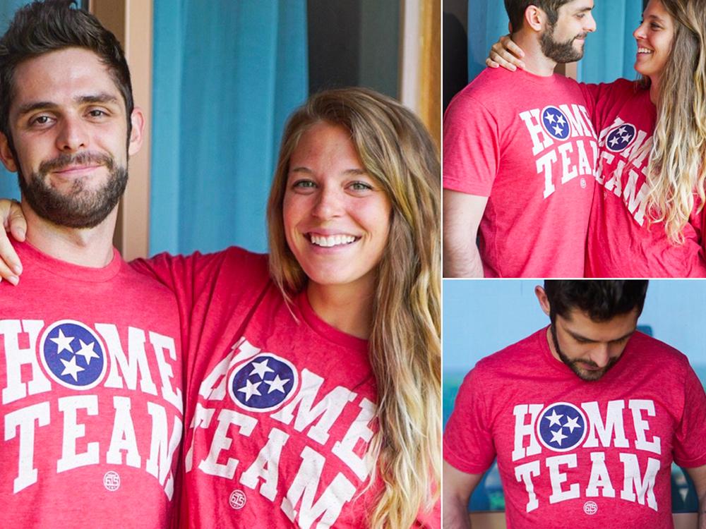 "Proceeds From Thomas Rhett's New ""Home Team"" T-Shirts Benefit 147 Million Orphans"