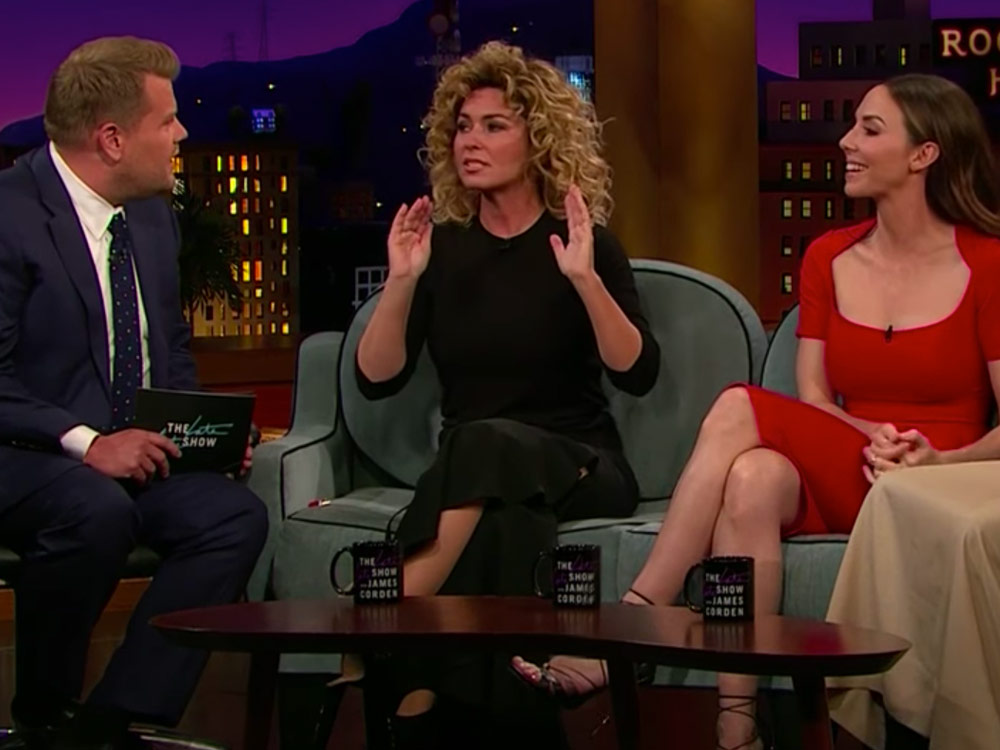 Shania Twain Tells James Corden About the Time Stage Fright Caused Her to Pee Herself [Watch]