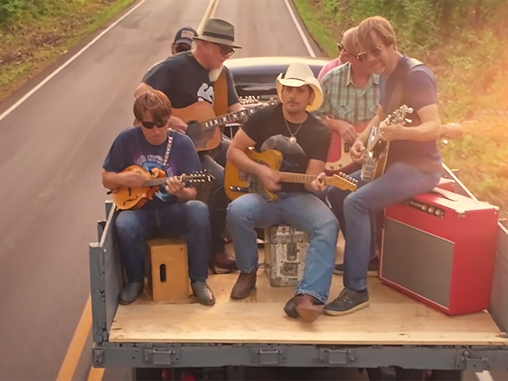 "Watch Brad Paisley Take Over a Small Tennessee Town in New Video for ""Heaven South"""