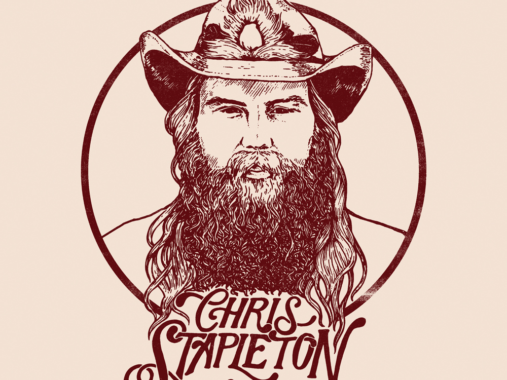 "Chris Stapleton's ""From A Room"" Debuts at No. 1 on Billboard Top Country Albums Chart, No. 2 on All-Genre Billboard 200 Chart"
