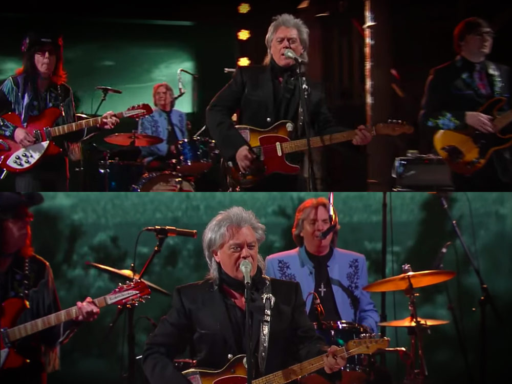 "Watch Marty Stuart's Superlative Performance of ""Time Don't Wait"" on ""The Late Show"""