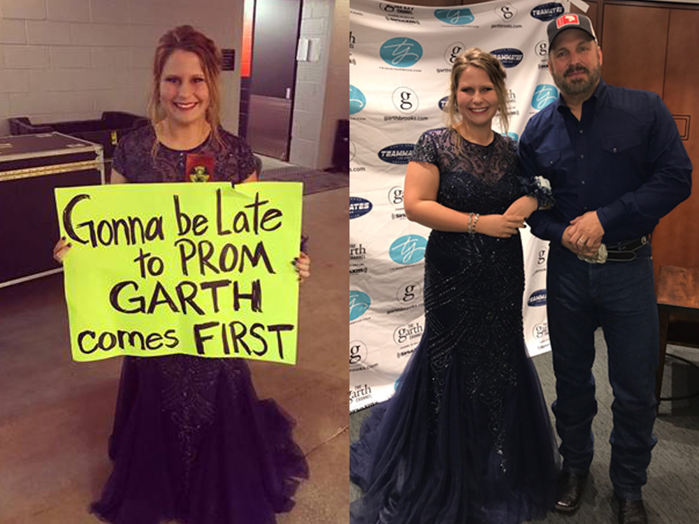 Garth Brooks Concert Tops Prom for Illinois Teen