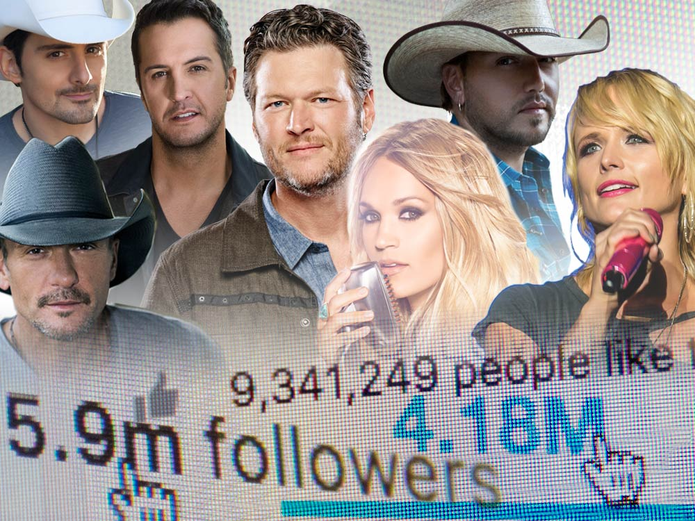Social Media Mavericks: Which Country Stars Have the Biggest Reach on Social Media?