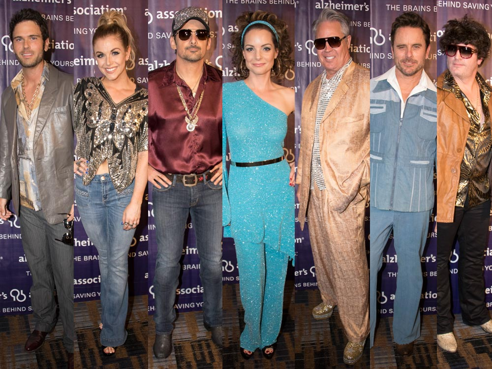 Disco Party! Brad Paisley, Hunter Hayes, Charles Esten, Lindsay Ell & More Groove to the Sounds of the '70s & '80s [Exclusive Photo Gallery]