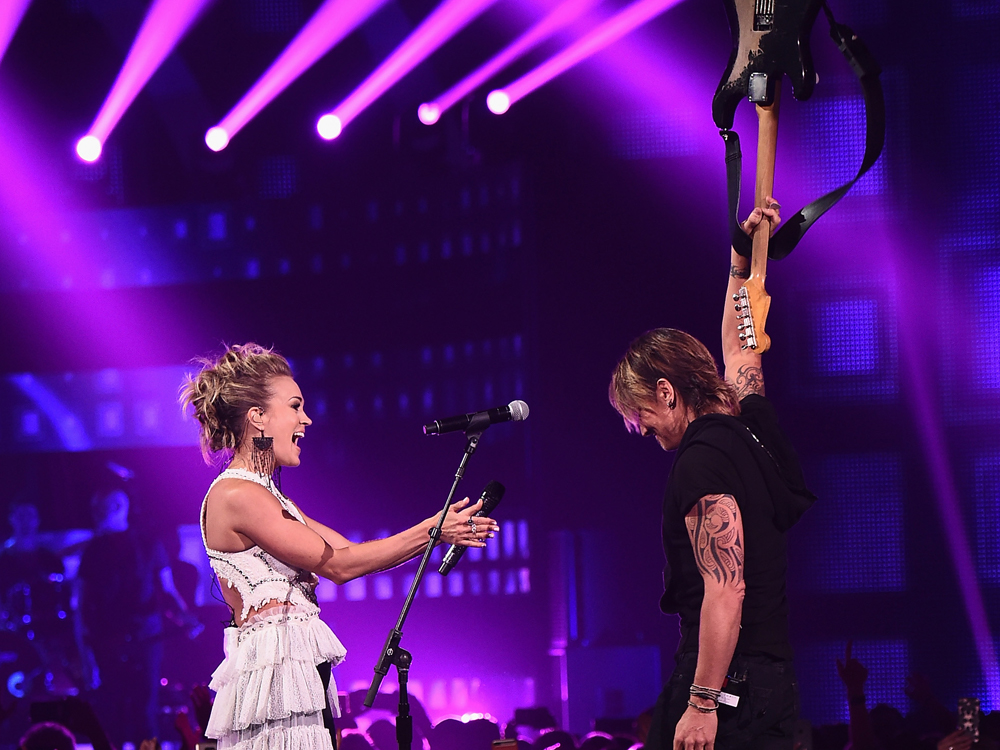 After Going a Combined 0/14 at the Past Year's ACM, Grammy & CMA Awards, Keith Urban Wins the Night With 4 CMT Music Awards