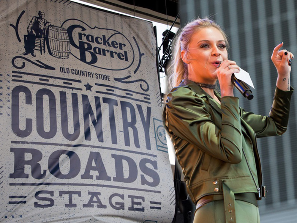 Kelsea Ballerini Teams With Cracker Barrel & NASH Icon for a Night of Legendary Karaoke [Photo Gallery]