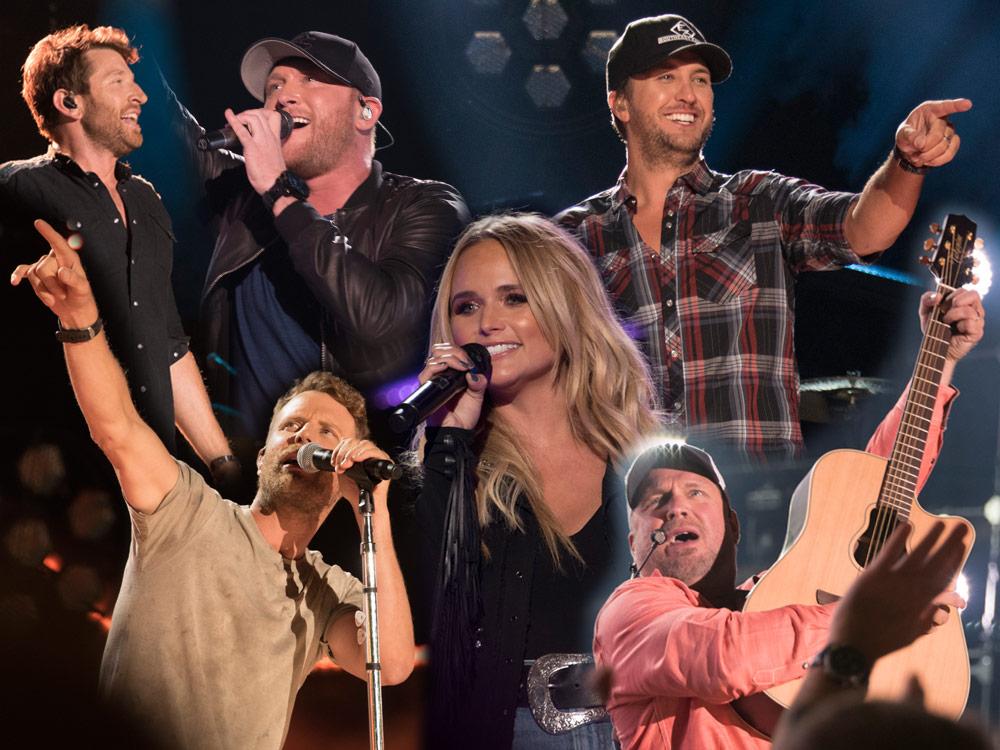 Night 1 Photo Gallery: CMA Fest's Nissan Stadium With Dierks Bentley, Garth Brooks, Miranda Lambert, Luke Bryan & More