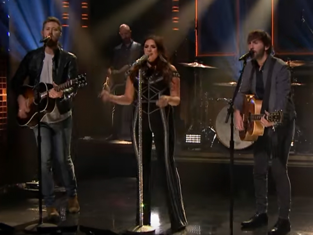 "Watch Lady Antebellum Perform New Album's Title Track, ""Heart Break,"" on ""Jimmy Fallon"""