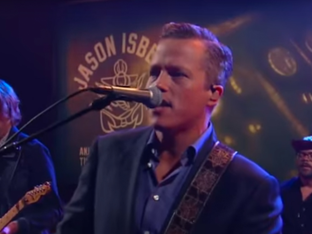 "Watch Jason Isbell Perform ""Hope the High Road"" on ""The Late Show"""