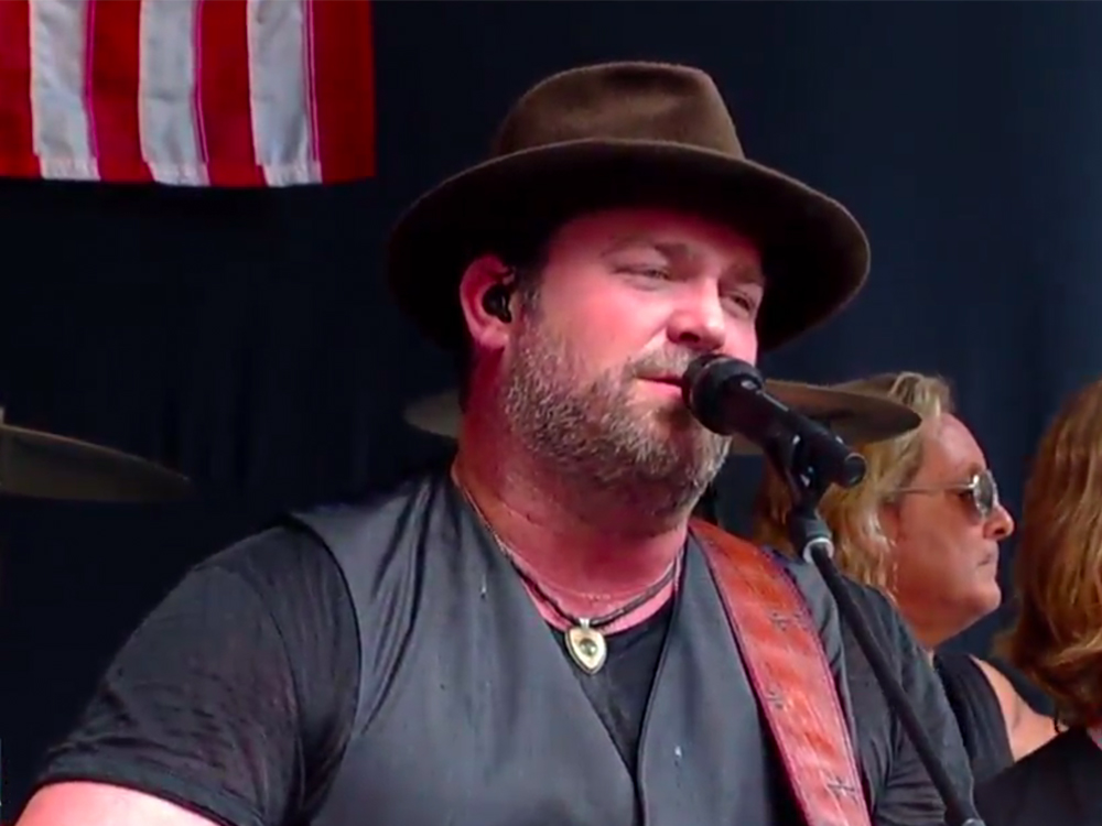 "Watch Lee Brice Perform New Single, ""Boy,"" During ""Fox & Friends"" Summer Concert Series"