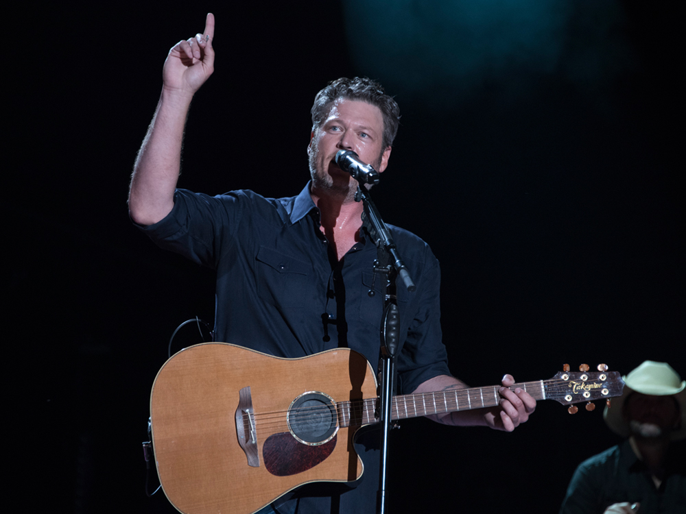 "Watch Jimmy Fallon Give Blake Shelton a Hard Time on ""The Tonight Show"" + Performance of ""At the House"""