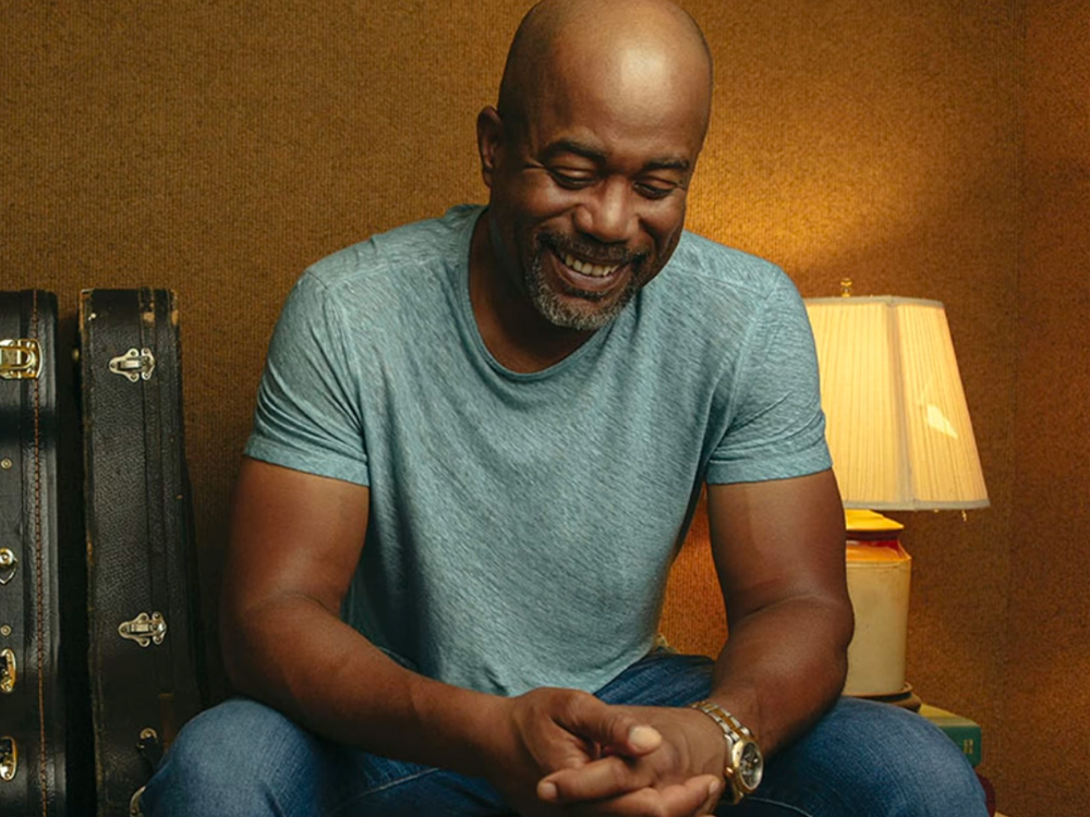 """Be One of the First to Listen to Darius Rucker's New Single, """"The First Time"""""""