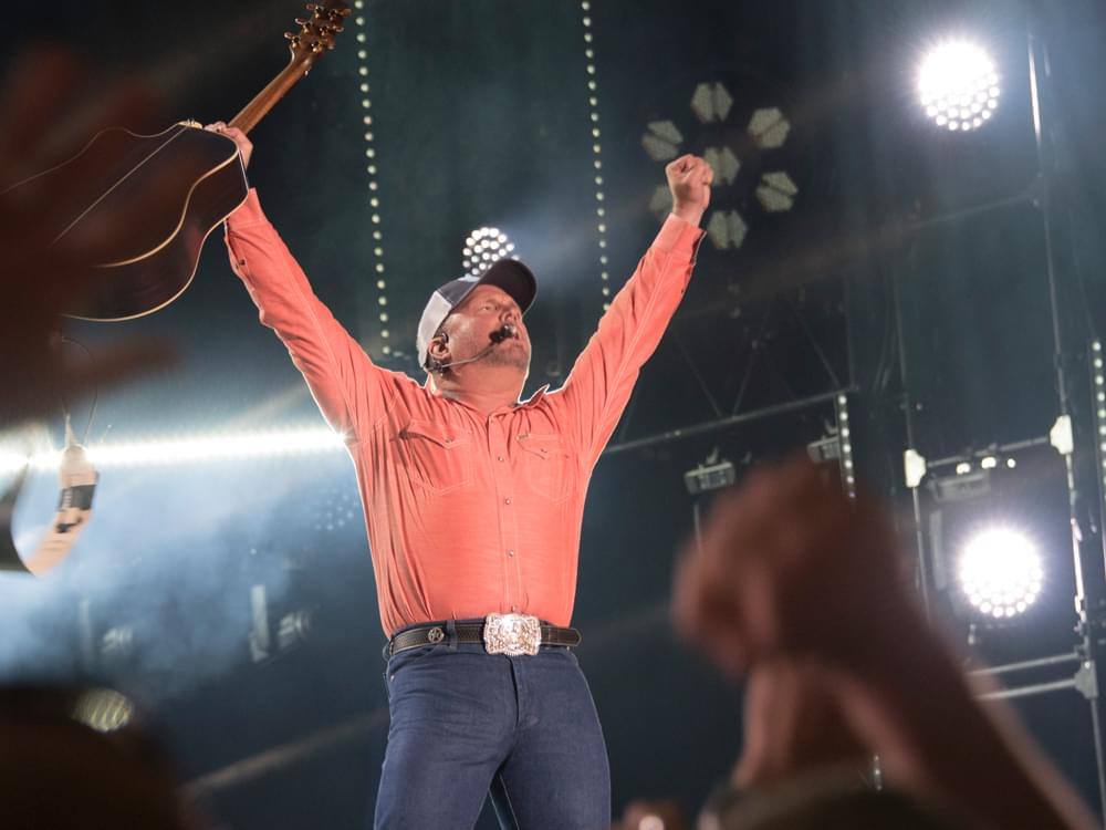 "Garth Brooks Teases Something ""Crazy"" & ""Historic"" at Upcoming Tour Stop in Indy"