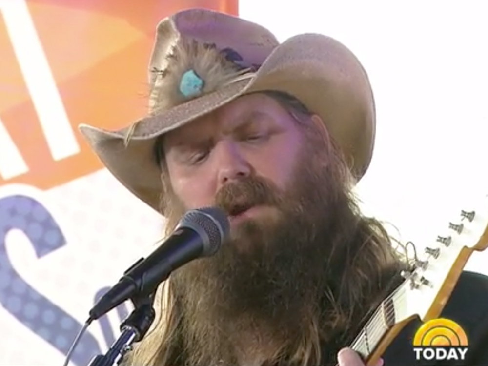 "Watch Chris Stapleton Perform ""Tennessee Whiskey,"" ""Broken Halos"" & More on ""Today"""
