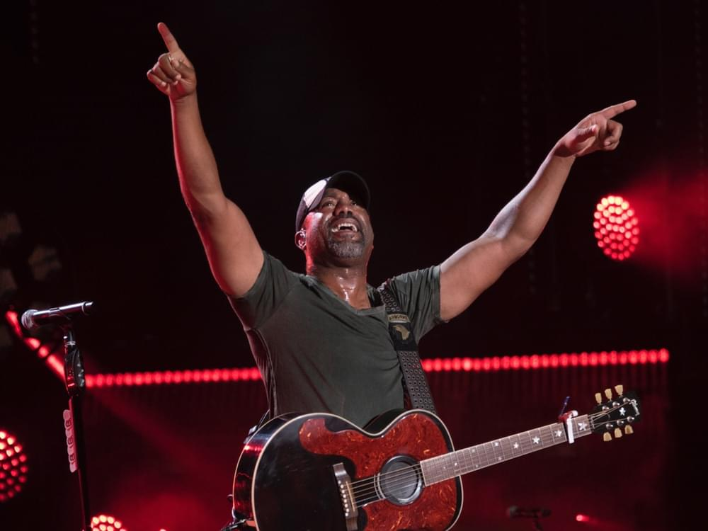 Darius Rucker to Host New Golf Show on SiriusXM
