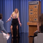 "Watch Kelsea Ballerini Play Charades With Jimmy Fallon, Jessica Biel & Matt Bomer on ""The Tonight Show"""