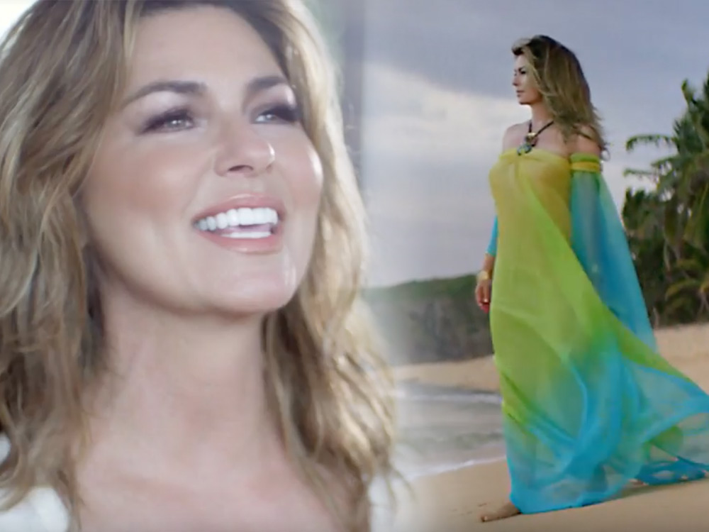 "Watch Shania Twain's New ""Life's About To Get Good"" Music Video"
