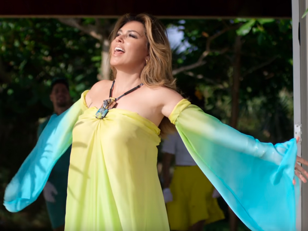 "Watch Shania Twain Take a Dig at Her Ex in Sunny New Video, ""Life's About to Get Good"""