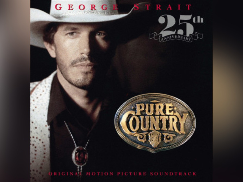"George Strait Celebrates 25-Year Anniversary of ""Pure Country"" With Vinyl Edition & Special Concerts"