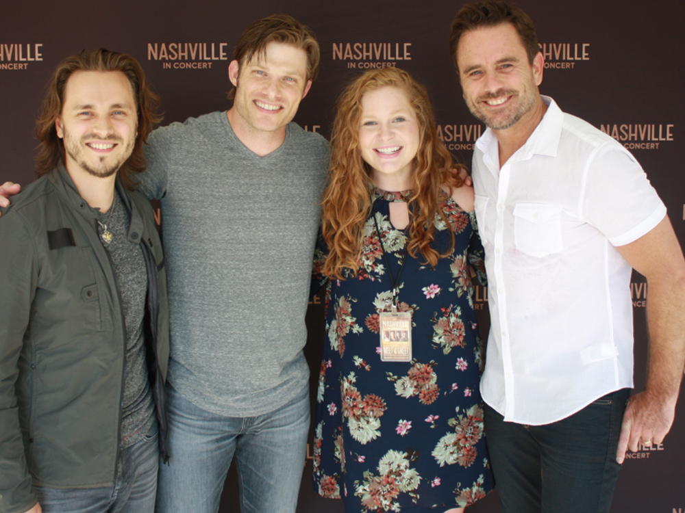 "Nice Guy Charles Esten Surprises Cancer Survivor With VIP Experience to ""Nashville"" Summer Tour"
