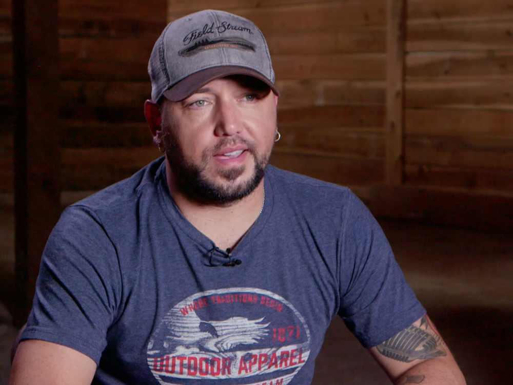 "Jason Aldean Reveals He & Wife Brittany Have a ""Few Names Under Consideration"" for Their Son [Watch]"