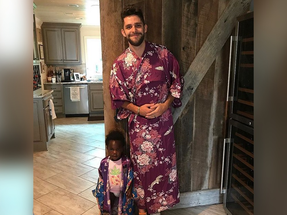 Social Media Roundup: Thomas Rhett's Kimono, Dolly Parton's Sparkle, Carly Pearce's Crush & More