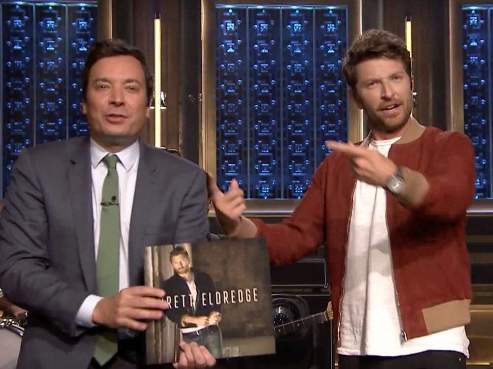 "Watch Brett Eldredge Perform New Single, ""The Long Way,"" on ""The Tonight Show"""