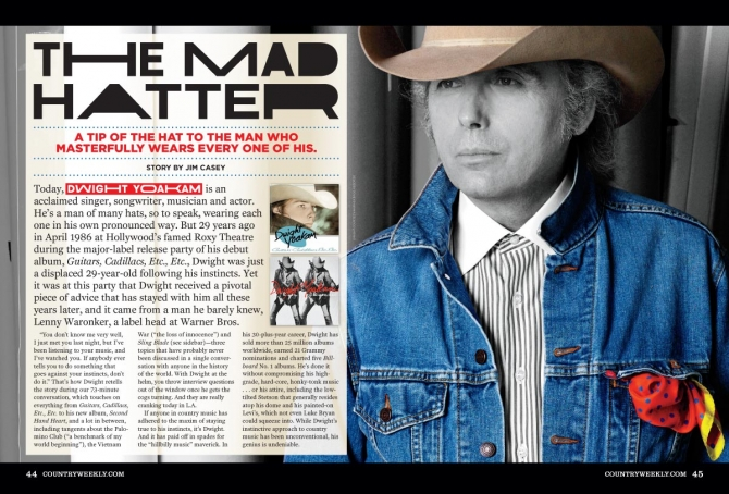 Dwight Yoakam: The Mad Hatter