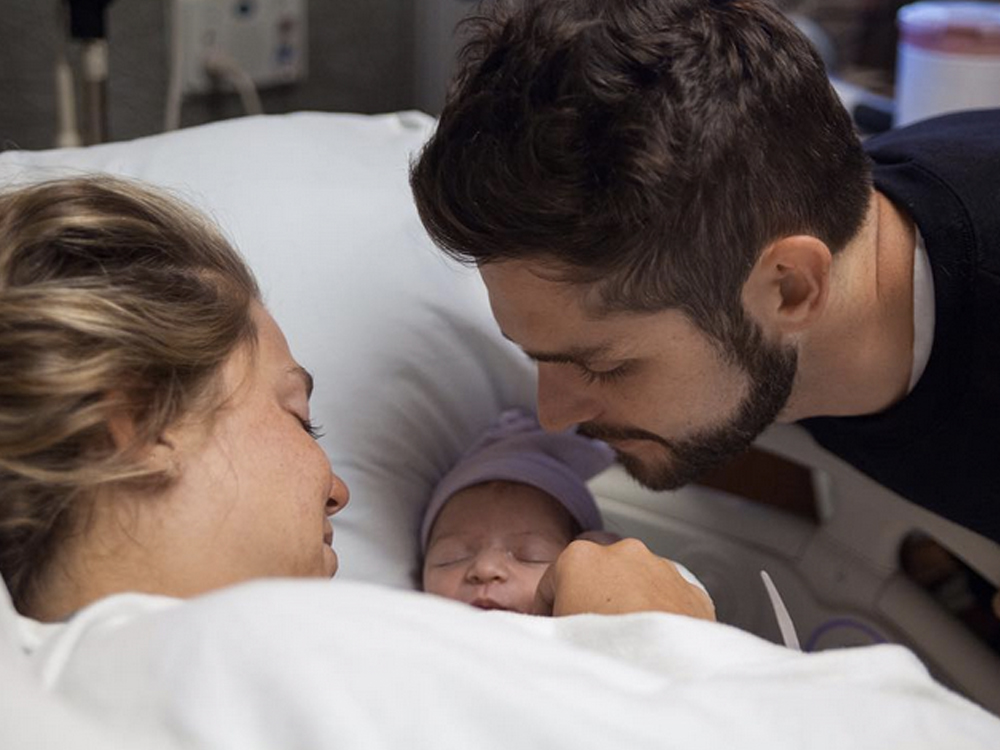 Thomas Rhett and Wife Lauren Welcome Baby Girl, Ada James