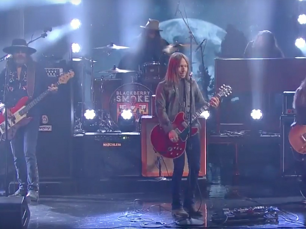 "Watch Blackberry Smoke Rock Out to ""Waiting on the Thunder"" on ""The Late Show"""