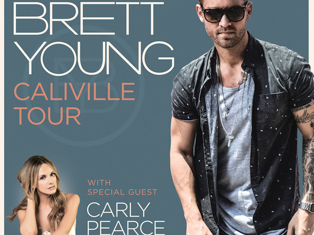 Brett Young Announces Headlining Caliville Tour With Carly Pearce