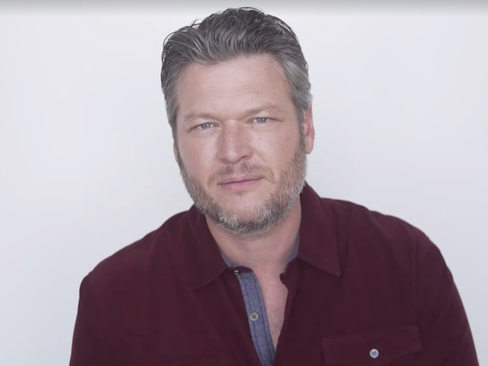 """Blake Shelton: """"I Wouldn't Be Sitting Here With a Career Right Now If It Wasn't for the Songwriters in Nashville"""" [Watch Video]"""