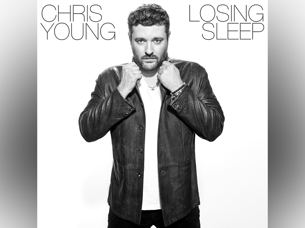 """Chris Young Reveals Track Listing & Songwriters for Upcoming Album, """"Losing Sleep"""""""