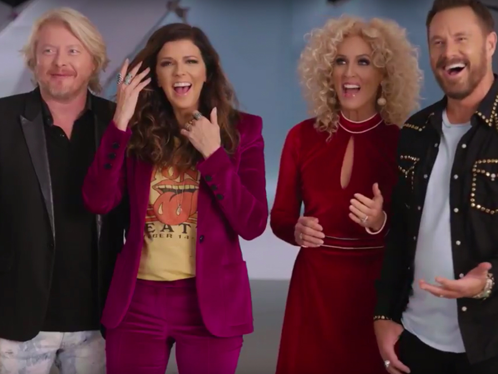 Watch Little Big Town Surprise Themselves as They Announce Their Induction Into the Music City Walk of Fame