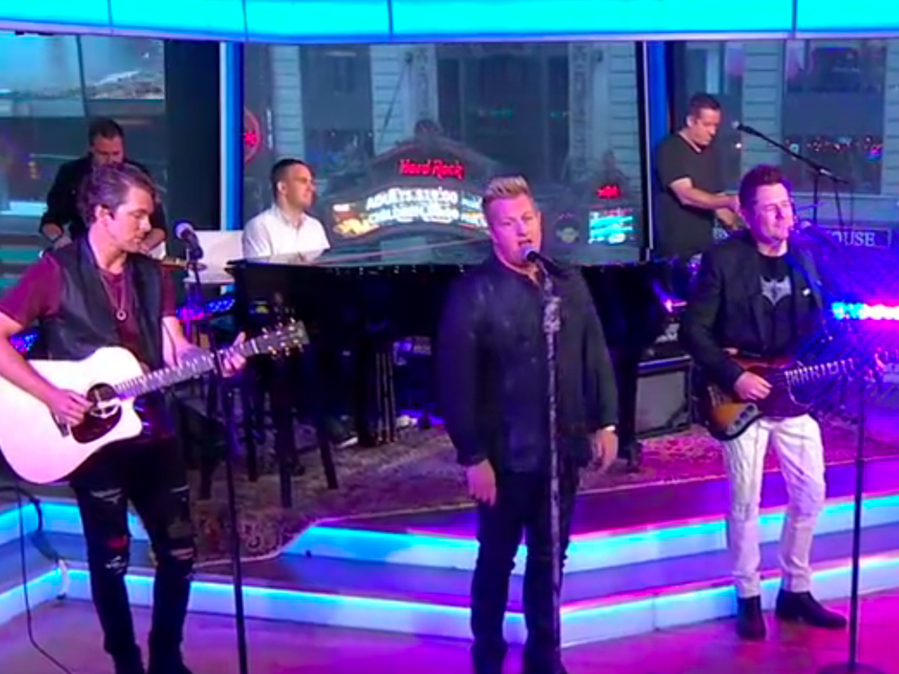 "Watch Rascal Flatts Perform ""I Won't Let Go"" as Part of Hurricane Relief Fundraiser on ""Good Morning America"""