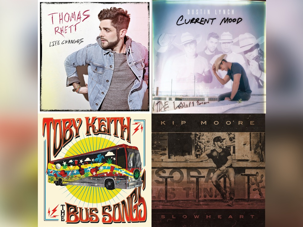 Vote Now! Who's Sept. 8 Album Are You Most Excited About: Thomas Rhett, Kip Moore, Dustin Lynch or Toby Keith?