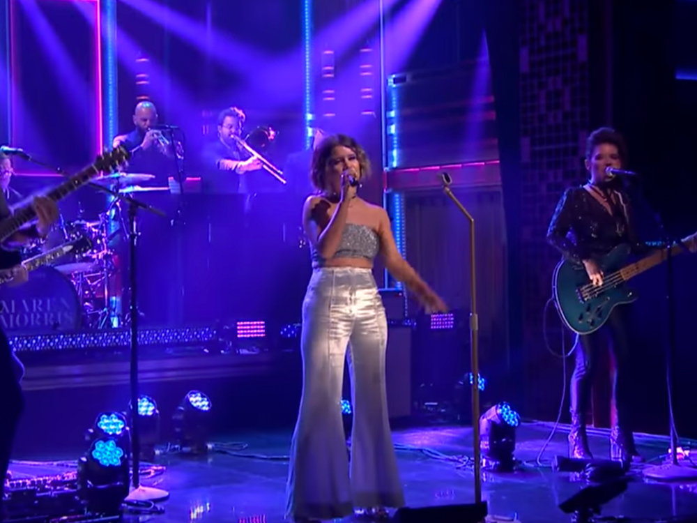 "Watch Maren Morris Perform ""Rich"" on ""The Tonight Show Starring Jimmy Fallon"""