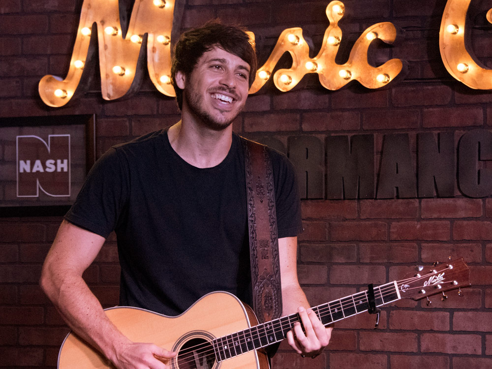 "Watch Morgan Evans Perform First Love Song He Wrote for Fiancée Kelsea Ballerini: ""Dance With Me"""