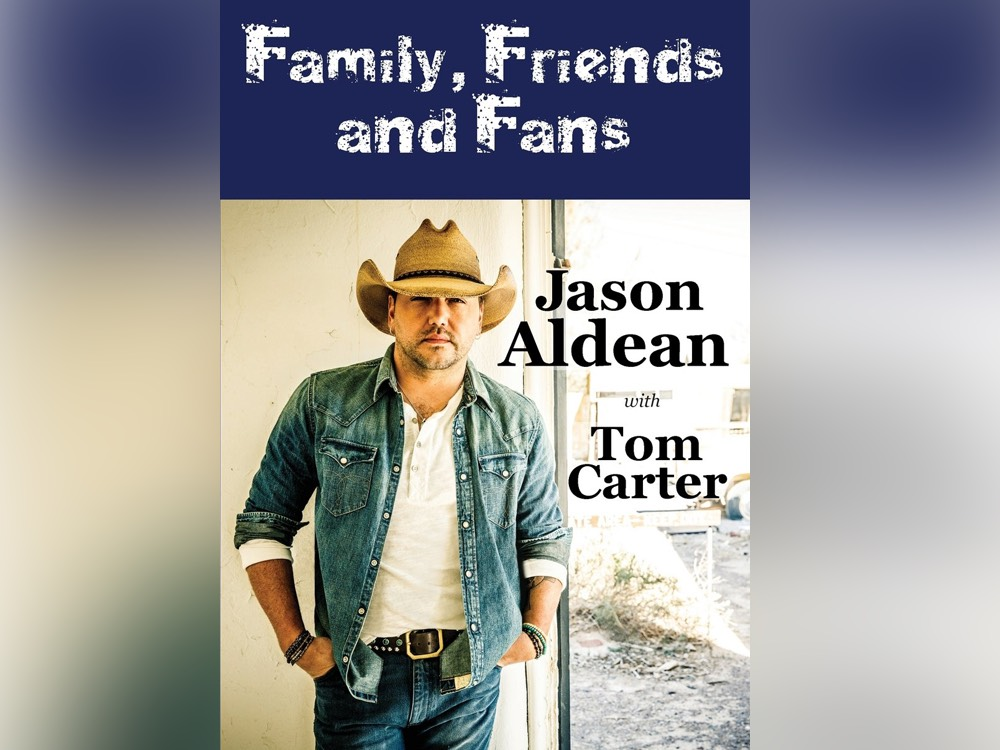 "Jason Aldean Releases New Book, ""Family, Friends & Fans"""