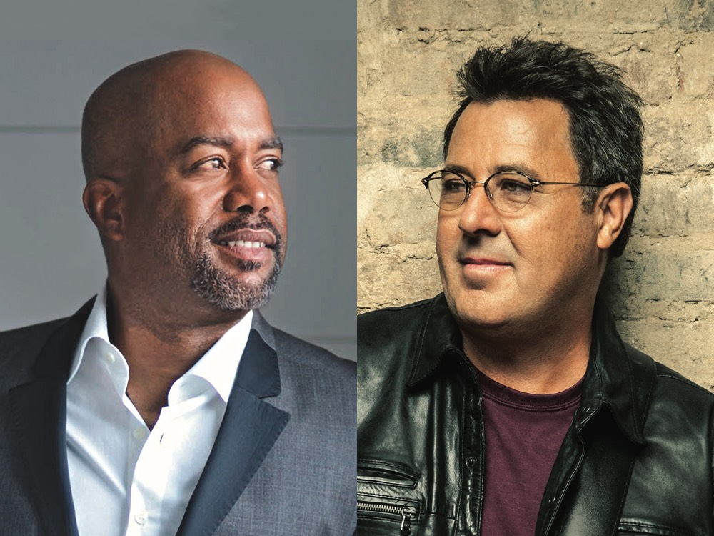 Watch Darius Rucker and Vince Gill Share a Few Laughs and Remember a Few First Times