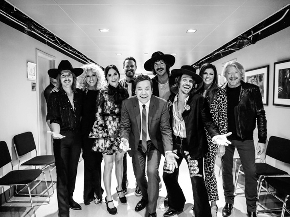 """Watch Little Big Town, Kacey Musgraves & Midland Perform a Medley of Hits, Including ELO's """"Don't Bring Me Down"""" on """"The Tonight Show"""""""
