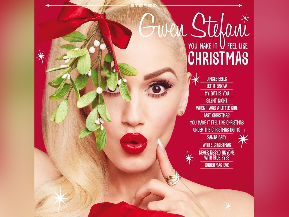 "Listen to a Sample of Gwen Stefani's New Holiday Tune Featuring Blake Shelton: ""You Make It Feel Like Christmas"""