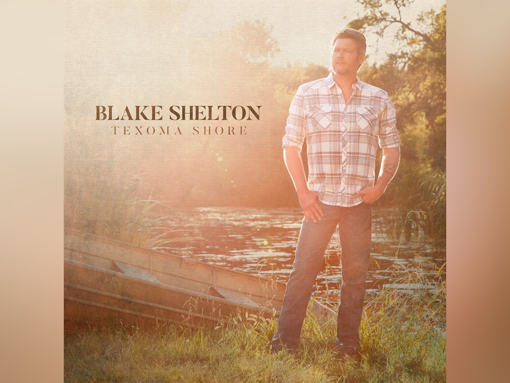 "Blake Shelton Reveals Title and Artwork of Upcoming 11th Studio Album, ""Texoma Shore"""