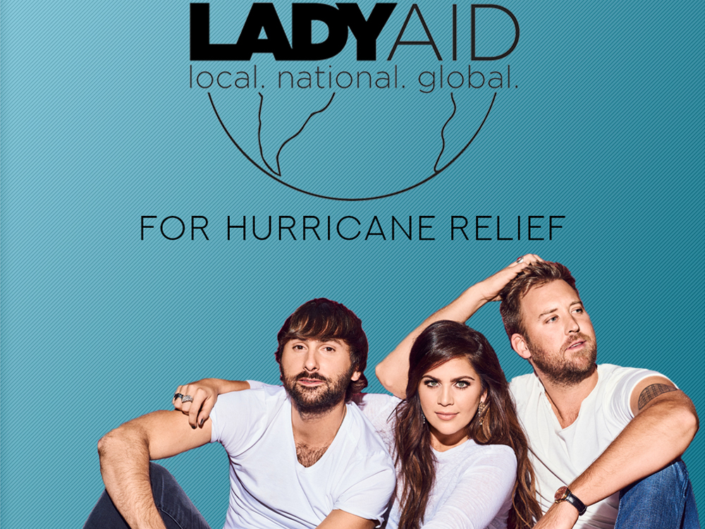"""Lady Antebellum Drops New """"Heart Break"""" Video and $200,000 to Support Hurricane Relief"""