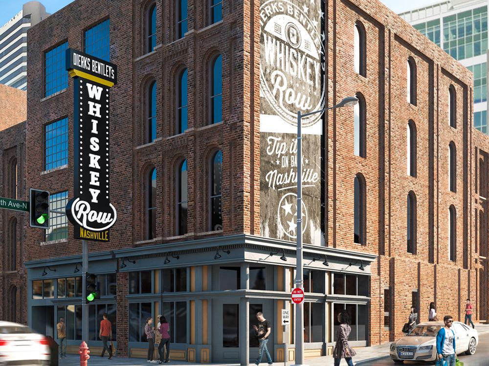 Dierks Bentley Will Soon Open New Whiskey Row Restaurant in Nashville