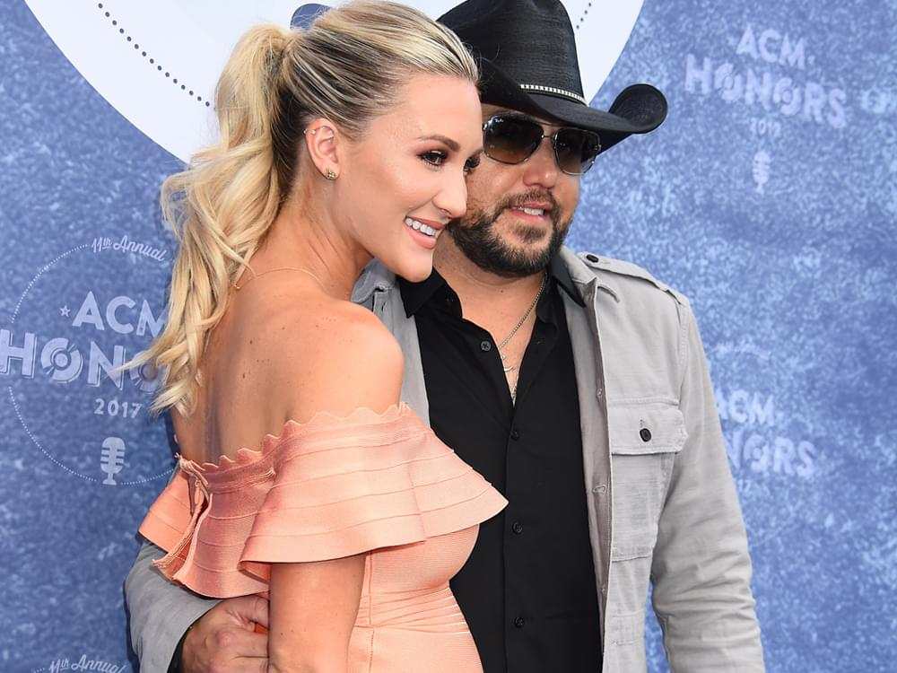 Jason Aldean & Wife Brittany Return to Las Vegas to Visit Mass Shooting Survivors