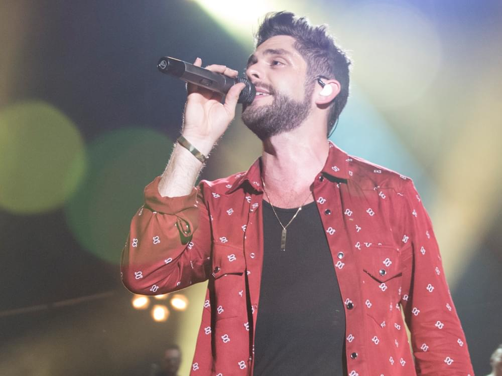 "Thomas Rhett Mixes It Up in New ""Leave Right Now"" Video [Watch]"