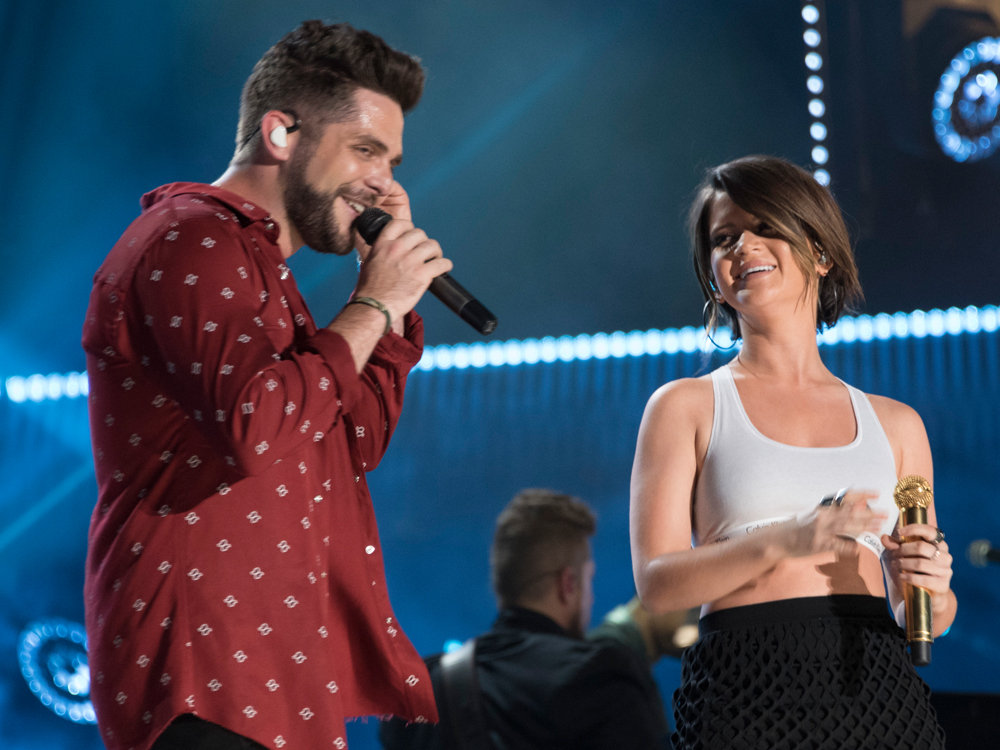 "Thomas Rhett and Maren Morris Earn Spots on Forbes' ""30 Under 30: Music"" List"